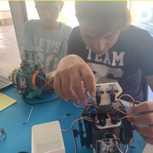 Prácticas de robótica para niños